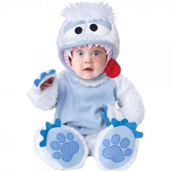 Abominable Snowman Costume Baby Yeti Halloween Fancy Dress