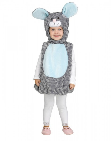 Lil' Grey Mouse Infant Toddler Costume By Fun World Toddler 2 To 4