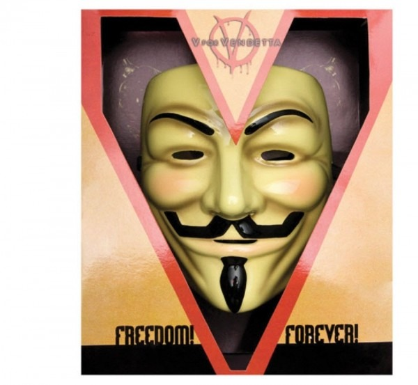 Rubies Costumes 198151 V For Vendetta Collectors Edition Mask