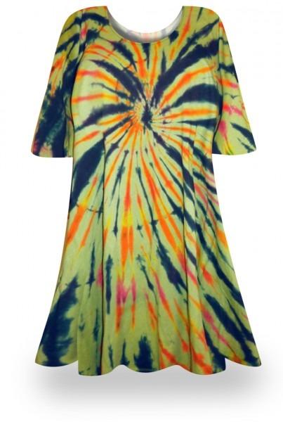 Sale! Fireworks Glory Tie Dye Plus Size & Supersize X