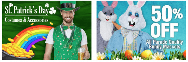 Costume Supercentre Canada Sale  50  Off Easter Bunny Mascots + St