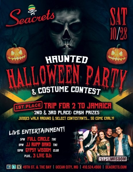 Haunted Halloween Party & Costume Contest