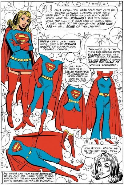 Supergirl's Costume, Uniform, Outfit Fashions, Styles And Their