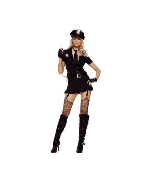 Adult Sexy Dirty Cop Halloween Costume