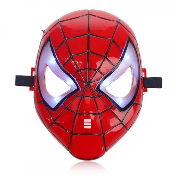 Spiderman Mask With Light
