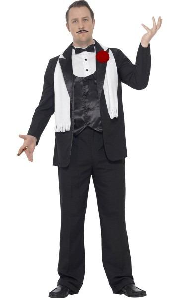 Men's Plus Size Gangster Costume
