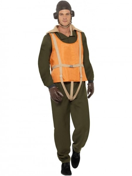 Wwii Fighter Pilot Aviator Costume