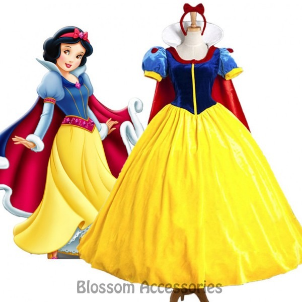 K243 Deluxe Snow White Movie Princess Fairytale Womens Book Week