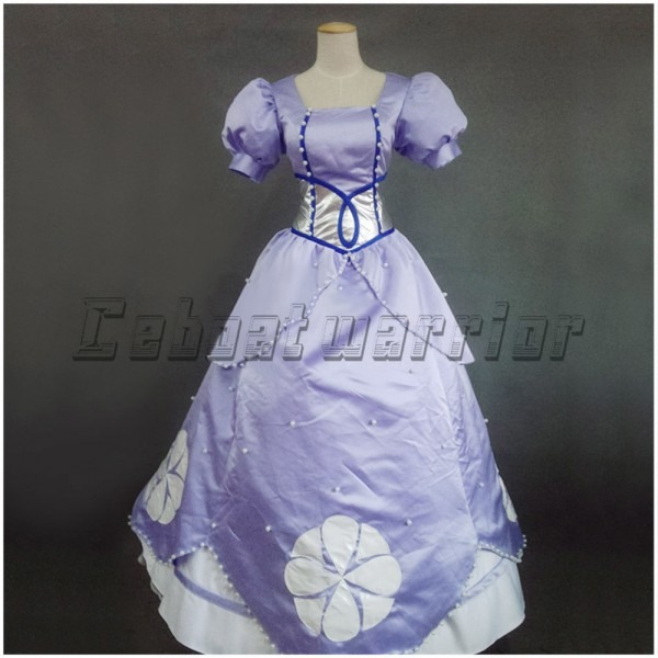 Sofia The First Princess Sophia Purple Cosplay Costume For Adult