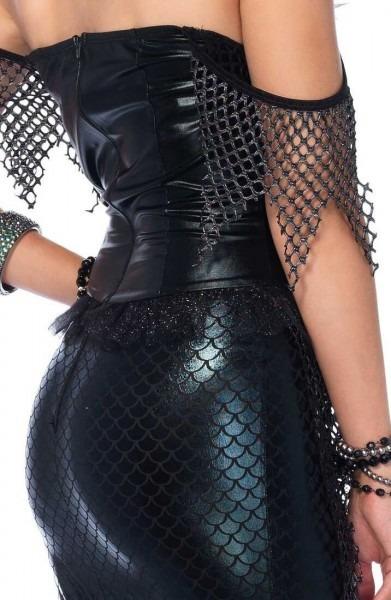 Black Mermaid Costume