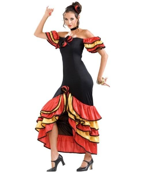 Adult Spanish Lady Halloween Costume