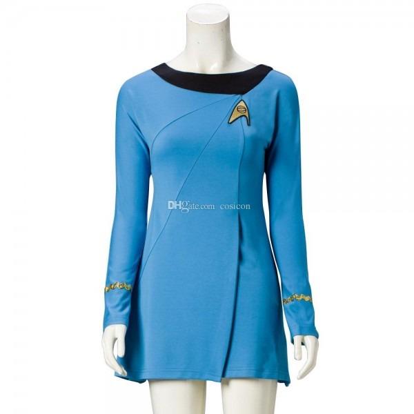 Star Trek Cosplay Uniform Cosplay Star Trek Female Duty Uniform