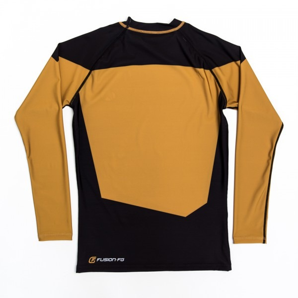Star Trek Tng Gold Rash Guard