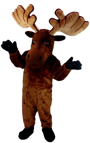 Buy Moose Mascot Costume T0109 Mask Us From Costume