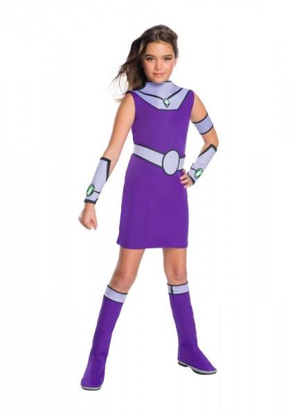 Teen Titan Girls Starfire Costume