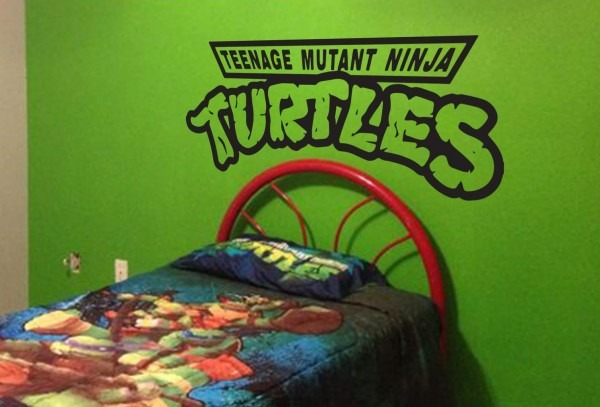 Turtles Are Here To Protect, Ninjaturtles Wall Decal