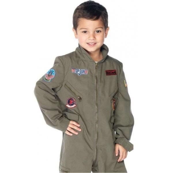 Top Gun Boys Flight Suit Costume