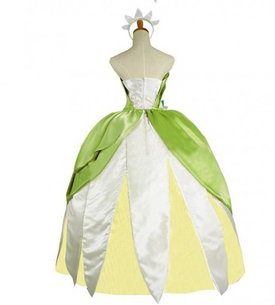 The Princess And The Frog Adult Tiana Costume Princess Tiana Green
