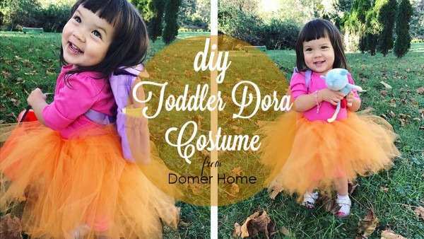 Domer Home  Easy, Quick, & Cheap Toddler Halloween Costume