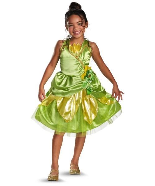 Tiana Sparkle Kids Disney Costume