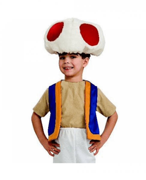 Toad Super Mario Brothers Youth Costume