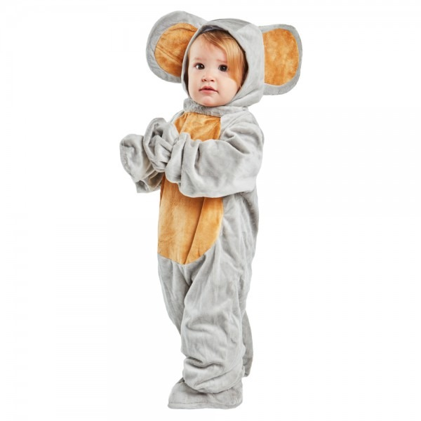 Toddler Grey Mouse Coustume