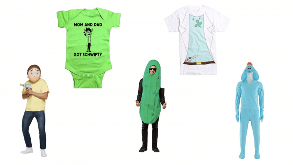 Get Rick And Morty Halloween Costume Images