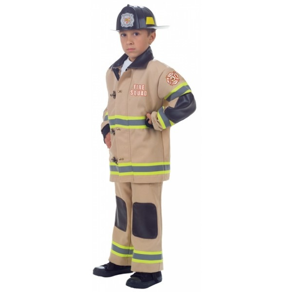 Firefighter Child Tan Lg 10