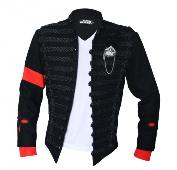 Mj Michael Jackson Black Jacket   Formal Dress Pesident Reception