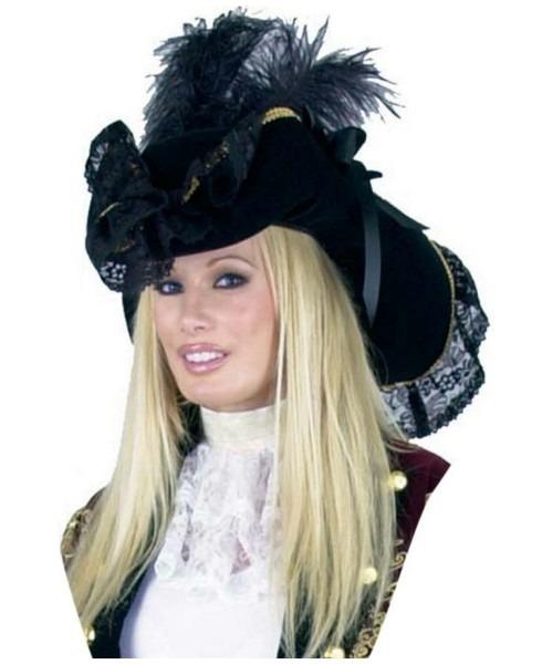 Velvet Pirate Womens Hat