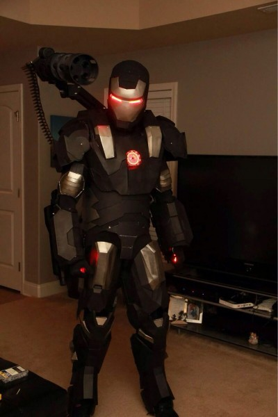 3d Printed War Machine Costume  War Machined
