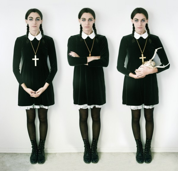 Chic Halloween Women Costume Ideas  Wednesday Addams 2019