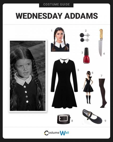 Dress Like Wednesday Addams Costume