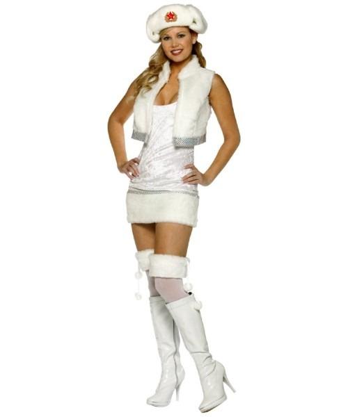 White Russian Costume