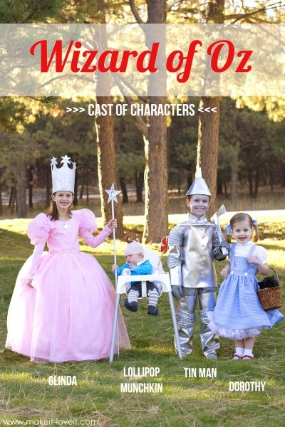 """Halloween Costumes 2014  The Whole """"wizard Of Oz"""" Gang! (…plus A"""