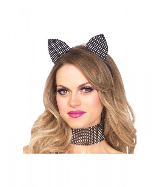 Bling Kitty Womens Cat Costume Kit
