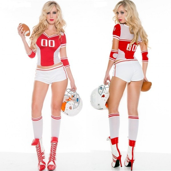 World Cheerleading Costumes Lala Uniforms Rugby Sports Cheerleader
