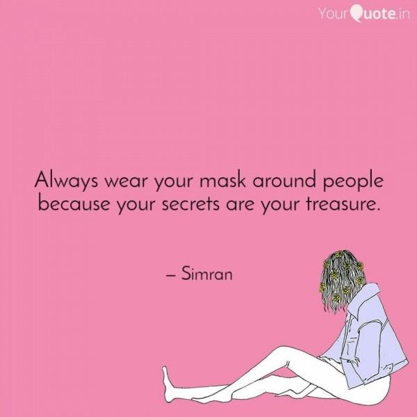 Always Wear Your Mask Aro
