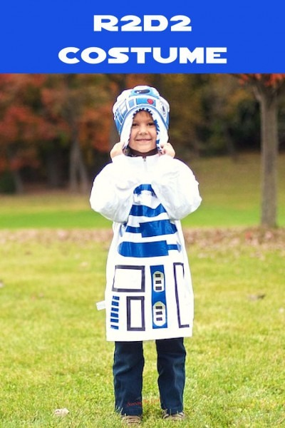 This Is A No Sew R2d2 Costume For Kids But Can Easily Be Adjusted