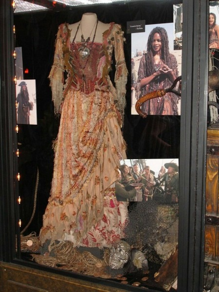 Gypsy Costume From Pirates Of The Caribbean (calypso)