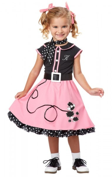 50s Poodle Cutie Toddler   Child Costume In 2019