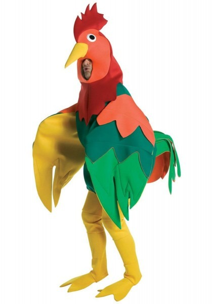 Rooster Costume, Animal Fancy Dress