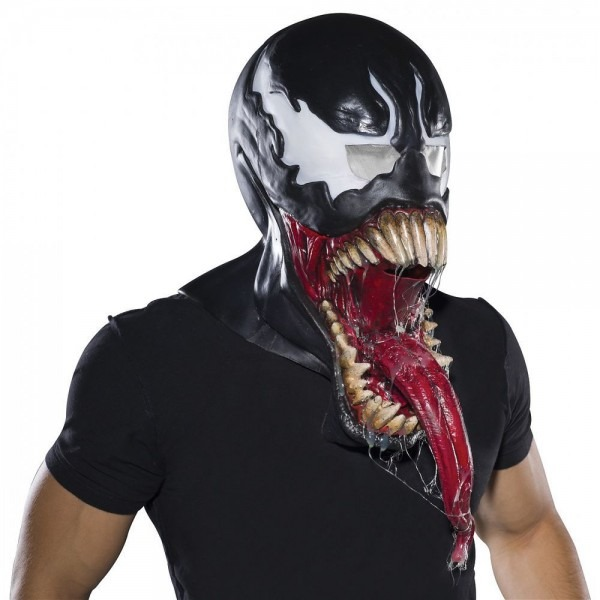 Deluxe Venom Mask Costume Adult Marvel Universe Halloween