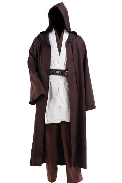 Cosplay Star Wars Jedi Robe Costume Obi