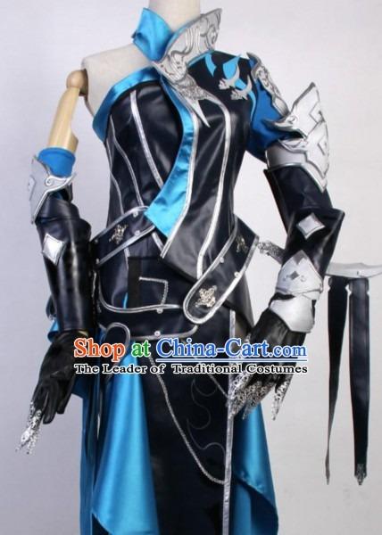 Asian Sexy Future Warrior Anime Costumes Superhero Female Beauty