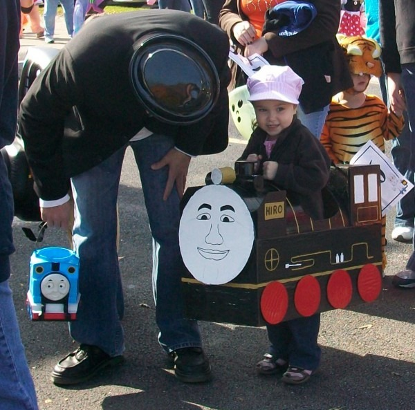 Sir Topham Hatt Halloween Costume & Id Mommy Diy Thomas The Tank
