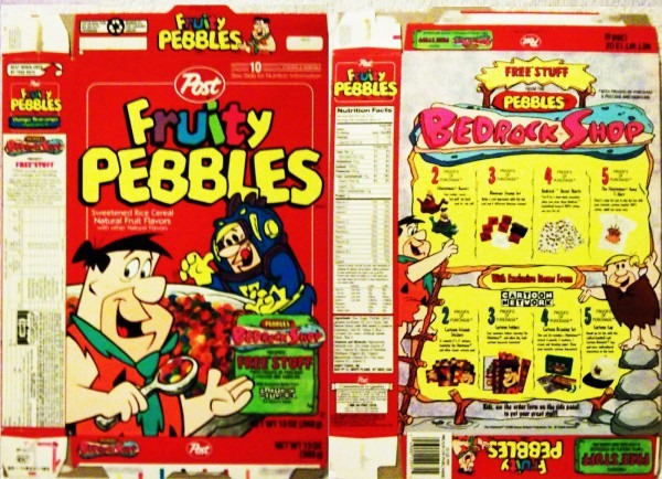 Cereal Box Price Guide Cereal Box Collecting  Pezoutlaw  Hollywood