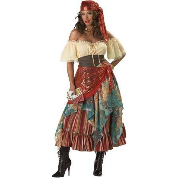 Gypsy Fortune Teller Costume For Women