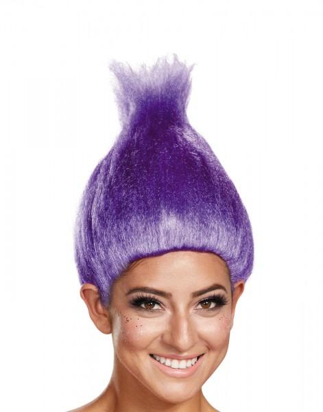 Costume Zoo  Dreamworks Trolls Movie Purple Adult Wig