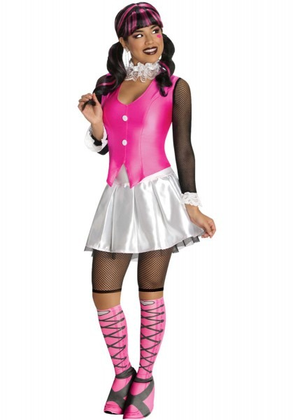 Draculaura Deluxe Costume, Monster High Fancy Dress